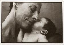 TOM MILLEA SIGNED ORIGINAL GRANDMOTHER WITH BABY 8X12 PLATINUM PHOTOGRAPH