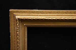 Cadre pour gravure dessin XIX e doré
