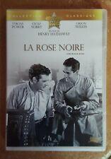 DVD LA ROSE NOIRE - Tyrone POWER / Cécile AUBRY / Orson WELLES - Henry HATHAWAY