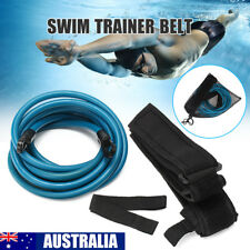 Swimming Pool Bungee Trainer Belt Resistant Leash Swim Training Exercise Cord