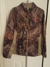 mossy oak softshell ladies jacket breakup country size large 12/14