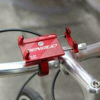 Bicycle Phone Holder Aluminum Smartphone Adjustable Phone GPS R3X6 Bike Sup C3L4