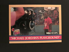 1990 Hoops Basketball - Michael Jordan's Playground - Card # 382