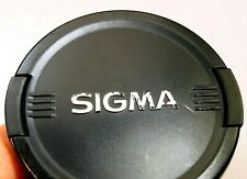 Sigma 77mm Tapa Lente Frontal Genuino OEM Ex