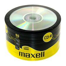 100 CD -r Maxell Vergini Vuoti Shirink 50 700mb 52x 80min 1cd Verbatim 624036
