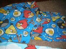 Angry Birds Bird 3 piece bedding sheet set flat, fitted, pillowcase  twin