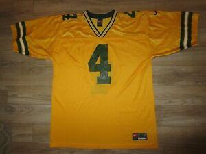 Brett Favre #4 Green Bay Packers Nike NFL Gold Version Jersey XL