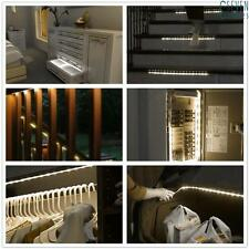 LED PIR Lampe Bande Capteur de mouvement Lumière Cabinet Placard Armoire 1M
