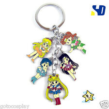 Sailor Moon Bandai Jupiter Metal keyring keychain key chain Pendant Cute