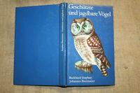 Fachbuch Vogeljagd, Ornithologie, Vogelkunde, Wasservögel, Greifvögel, DDR 1980