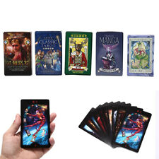 Tarot Cards Mysterious Divination Playing Cards Game for English/Chinese Vers IY