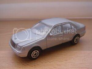 Mercedes Benz C class Welly 1:60 No. 2051