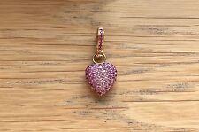 Annoushka Pink Sapphire Pavé Heart Pendant