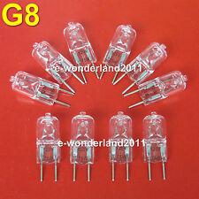 10pcs G8 JCD 120V 75W 75watt Halogen Light Bulbs Lamps 120 Volt 75watts