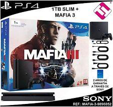 VIDEOCONSOLA SONY PS4 PLAYSTATION 4 1TB SLIM MAFIA 3 OFERTA TOP VENTA NOVEDAD