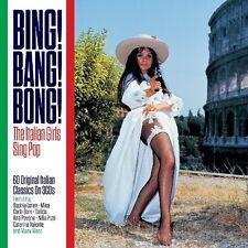 Bing Bang Bong-Italian (Sophia Loren, Carla i bonus, Dalida, Mina,...) 3 CD NUOVO