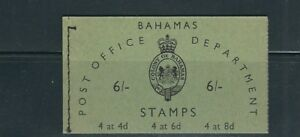 BAHAMAS 1961 complete BOOKLET (SG SB3 6 shillings) VF condition