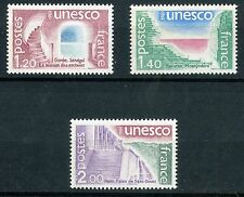 STAMP TIMBRE FRANCE NEUF SERVICE N ° 60/62 ** UNESCO / ARCHITECTURE