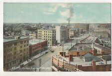 Portage Avenue WINNIPEG MB Manitoba Vintage Postcard