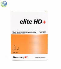 DENTAL IMPRESSION SILICONE ZHERMACK ELITE HD+ HEAVY BODY FAST SET 100ML