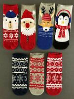 Stoppersocken Größe 25-26 Kinder Anti Rutschsocken ABS Socken Junge NEU Rentier