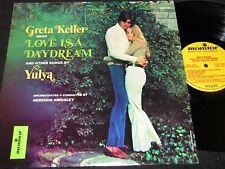 GRETA KELLER Love Is A Daydream / 70s US LP MONITOR MFS 725