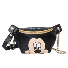 Cute Disney Fanny Pack Boy-Girl Waist Shoulder Bag Fashion Belt Crossbody Bag