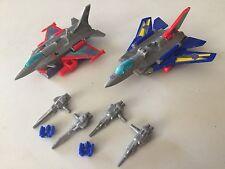 Transformers G1 KABAYA BUSTER & HYDRA masterforce dreadwind set mini figure