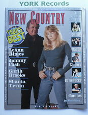 NEW COUNTRY MAGAZINE - January 1997 - LeAnne Rimes / Johnny Cash / Garth Brooks