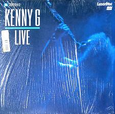 KENNY G - LIVE - LASER DISC - STILL IN SHRINK WRAP