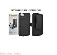 Verizon Puregear  Shell Holster Combo Case Clip For Apple Iphone 4 4G 4S Sprint