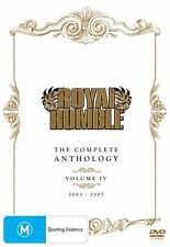 WWE - Royal Rumble - The Complete Anthology : Vol 4 (DVD, 2012, 5-Disc Set) Reg4