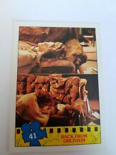 TOPPS 1990 TEENAGE MUTANT NINJA TURTLES MOVIE TRADING CARD # 41