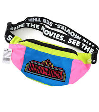 Universal Studios Parks Neon Logo Retro Fanny Pack Belly Bag