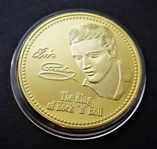 ELVIS PRESLEY - THE KING OF ROCK AND ROLL MEMORIAL COIN