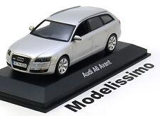 1:43 Minichamps Audi A6 Avant 2004 silver