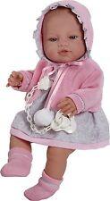 Berbesa - Bebé recién nacido chaqueta rosa, 42 cm en caja (5104)