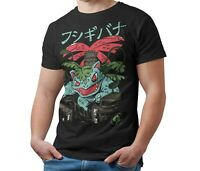 Unofficial Pokemon T-Shirt Venasaur Kaiju Giant Monster Men's Shirt Kids & Adult