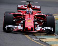 2017 Ferrari Sebastian Vettel F1 Formula One Racing Australian Grand Prix Photo