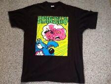 "RARE GREEN JELLO ""DUH"" TOUR 1993 CONCERT SHIRT W/ FADED AUTOGRAPHS XL"