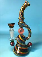 Color Ball Glass Pipes Water Bong Honey Comb Perk Water Pipe Glass Bong hookahs