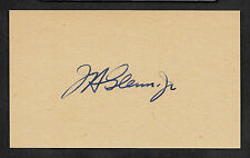 John Glenn Friendship 7 Autograph Reprint On Original Period 1962 3X5 Card