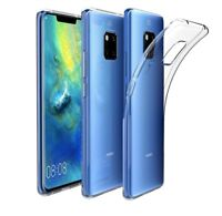 For Huawei Mate 20 Pro Case Transparent Clear Silicone Slim Gel Cover