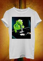 Frog Cocaine Drug Hipster Ladies Men Women Unisex T Shirt Tank Top Vest 1070