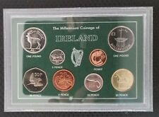 Ireland/Irish Millenium year set 2000, B unc coins set. 21th Birthday present