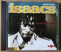 GREGORY ISAACS - Number One - CD Album - Charly Records - ROOTS REGGAE / LOVERS