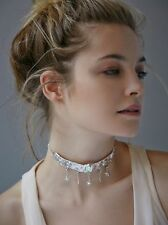 Free People Sterling Silver Stardust Choker