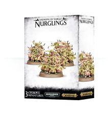 Nurglings 3 Daemons of Nurgle Warhammer 40K Age of Sigmar Chaos Daemons AoS
