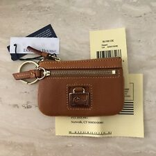 Dooney & Bourke Small Coin Purse Pebble Leather (Desert) 8U160DE NWT