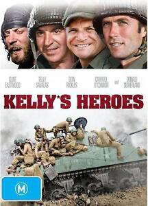 KELLY'S HEROES : NEW DVD : Kellys Heroes